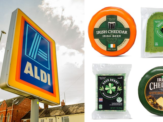 Aldi's green and boozy cheeses might just make us tolerate St. Patrick's Day