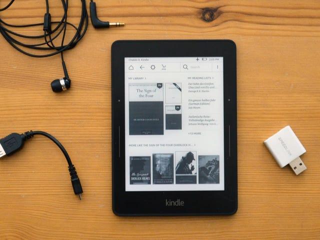 Construya su propio adaptador de audio Kindle por menos de $ 10