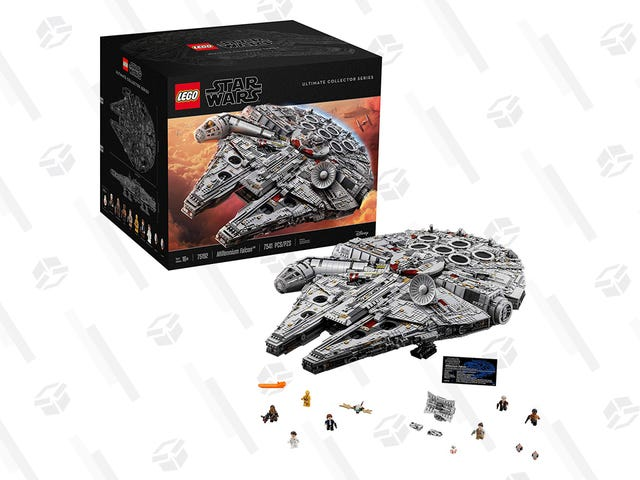 The LEGO Millennium Falcon Will Be $479 For a Short Time