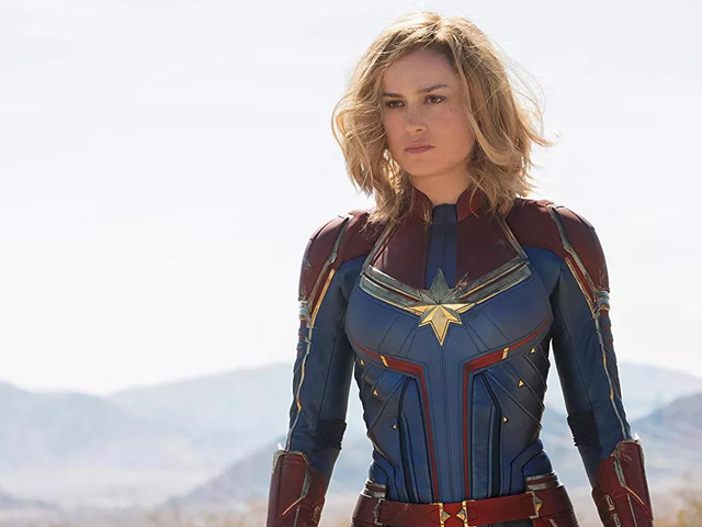 Captain Marvel is Even More Alien in Unused Concept Art<em></em>
