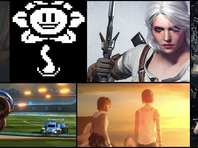 My Personal Top Ten Games of 2015
