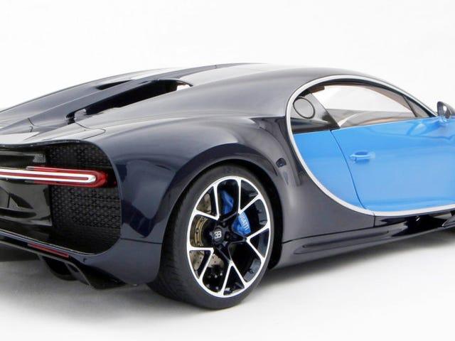 Achetez ce modèle à l'échelle 1: 8 de la Bugatti Chiron pour 10 000 $ si vous voulez, je suppose