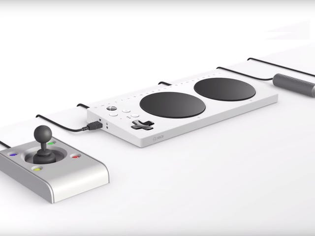 Microsoft's Controller for Gamers With Limited Mobility Comes with 19 3.5mm Jacks