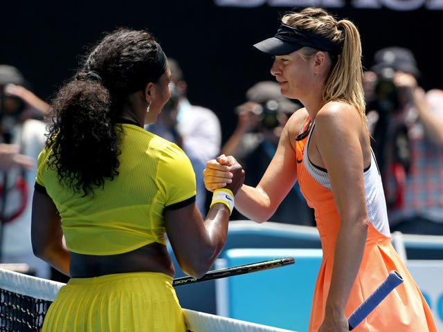 Serena Williams And Maria Sharapova Will Toss The Beef Back On The Grill At The U.S. Open