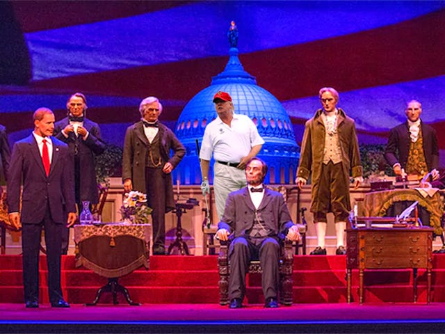 Disney Says President Trump Will Speak at the Hall of Presidents, Contradicting Earlier Reports [Updated]