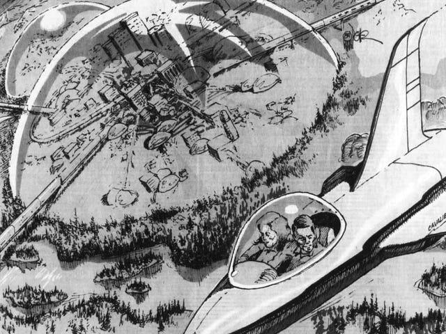 I bambini degli anni '80 Immaginavano l'anno 2020 con Robot Butlers, Bubble-top Cities e Nuclear War