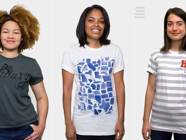 Clinton Campaign Kicks Off Fashion Week With a Bunch of Pricey T-Shirts