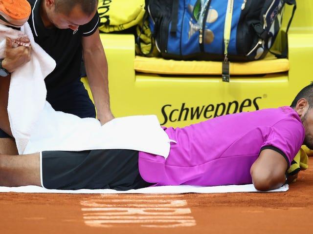 Nick Kyrgios n'est pas en forme pour le French Open