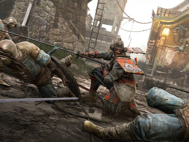 For Honor, a game about samurai beating up vikings beating up knights, is available for free via Upl