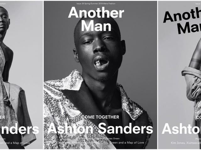 From Moonlight to Magazine Covers, Ashton Sanders Isn't Just Another Man