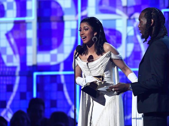 2019 Grammys: Cardi B Gør Historien Flytter til Bliv den første Solo Kvinde Rap Artist til at vinde Best Rap Album [Opdateret]