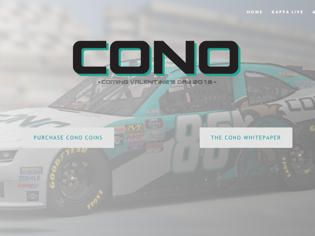 This NASCAR Team Apparently Got Paid For Sponsorship With A Cryptocurrency That's Only Existed For A Day