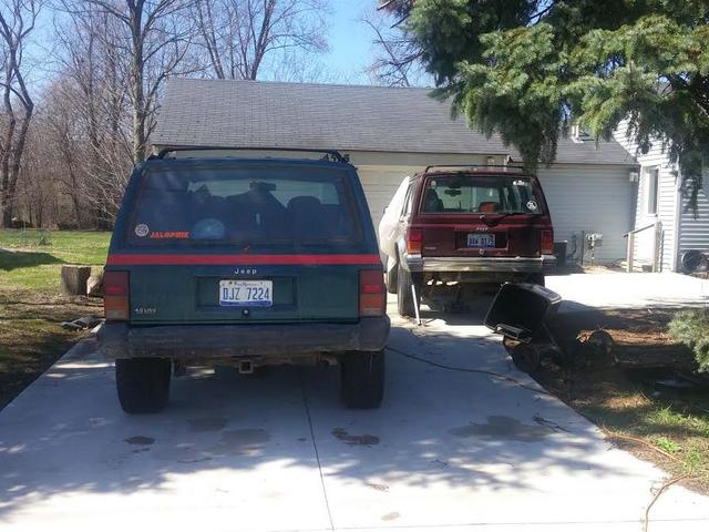 Min $ 600 Craigslist Jeep gjorde det hemma efter en läskig resa som förstörde mina byxor
