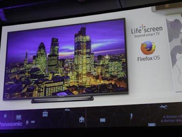पैनासोनिक ने पुष्टि की है कि Ap Apesta por फ़ायरफ़ॉक्स OS en el televisor