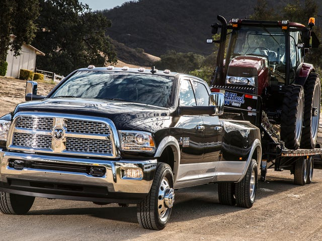 FCA Recalls Roughly 880,000 Trucks for Possible Steering Loss or Brake Pedals That Could 'Detach'