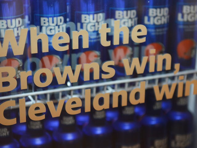 This should be fine: If the Browns win this season, Cleveland sports fans get free beer