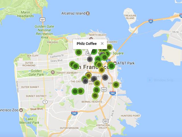 Tämä sovellus auttaa sinua löytämään luotettavat Wi-Fi ja etätyöpaikat ympäri maailmaa