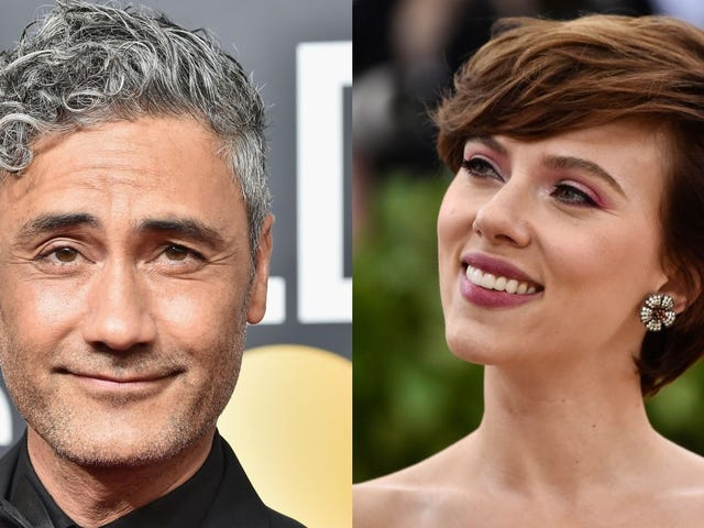 Scarlett Johansson dines with Hitler in this first look at Taika Waititi's <i>Jojo Rabbit</i><em></em>