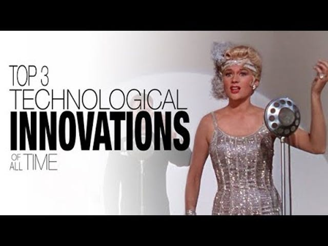 The three biggest technological innovations in the film industry