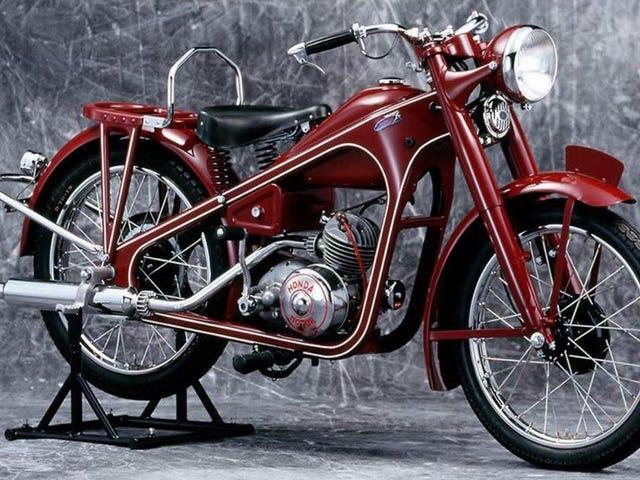 Honda zbudowała 400 milionów motocykli