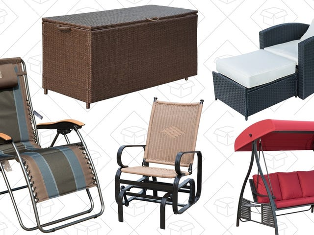 Bring On the Warmer Weather With Amazon's Outdoor Seating Sale, Today Only