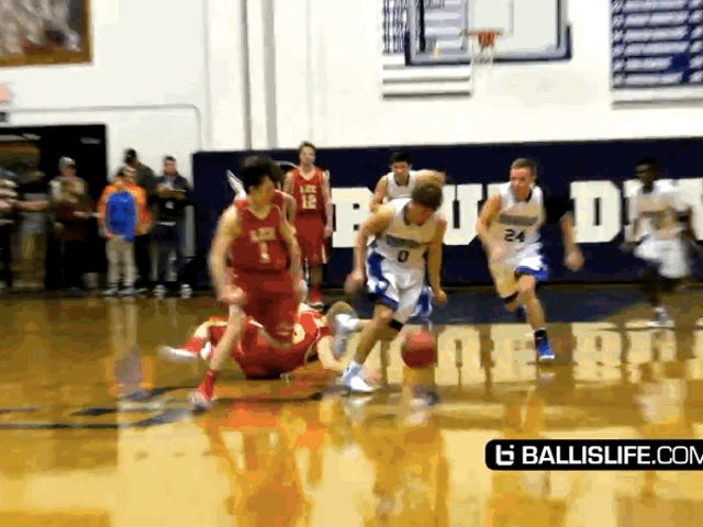 Future Georgetown Hoya Mac McClung Does The Coolest Dunks