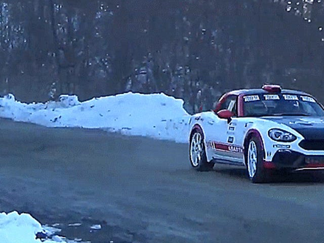 Słuchaj Samochodu Fiat 124 Abarth Rally Wake Up All Monte Carlo z 300 Siła