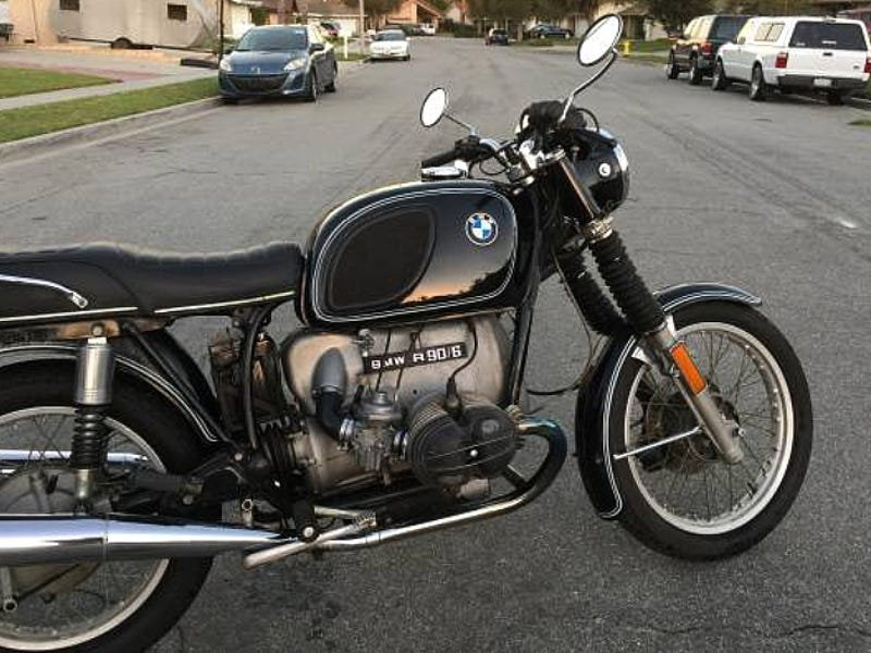 For $2,800, This 1975 BMW R90/6 Might Give Good Airhead