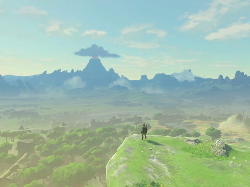 Kletterausrüstung Zelda Breath Of The Wild : Was zelda breath of the wild anderen open world games beibringen kann