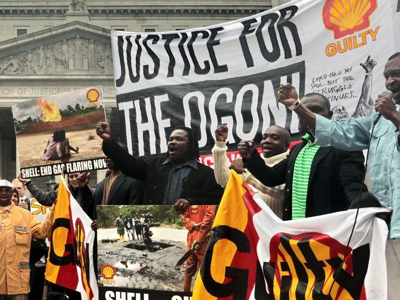 Protester stoppar oljeexporten i ecuador