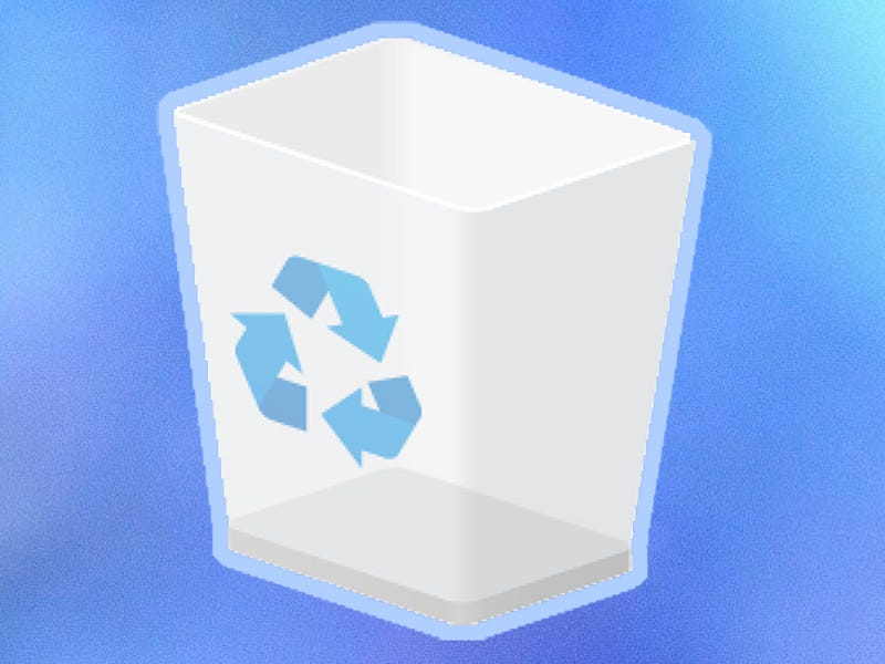 How to restore deleted temporary files