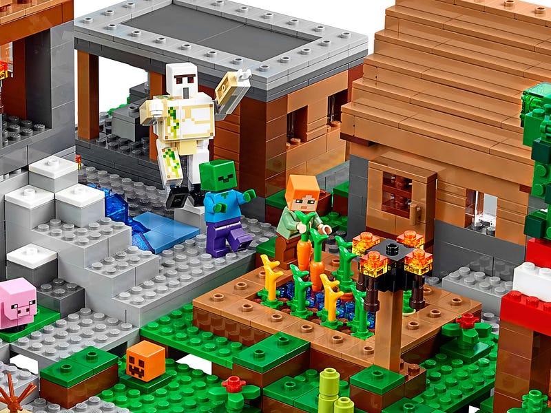 Wioska Jest Największym Oficjalnym Zestawem Minecraft Lego Going