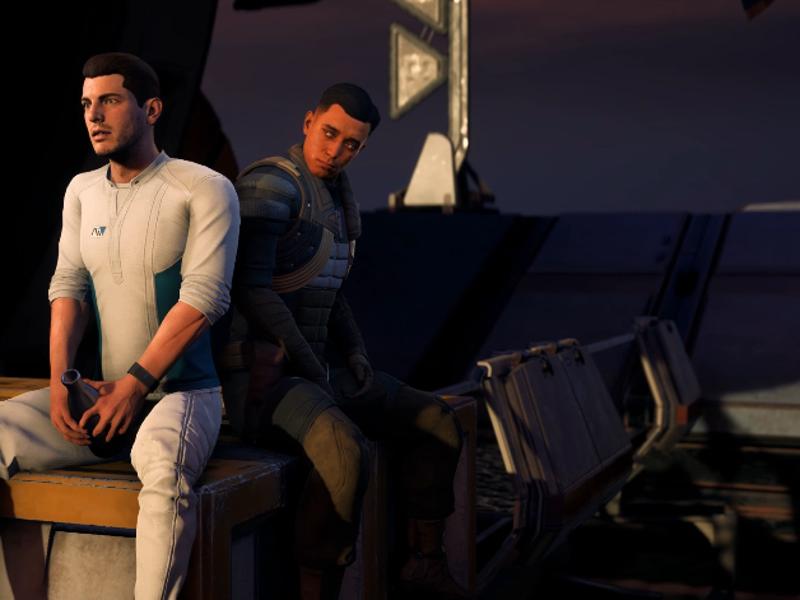 Mass Effect homo seksiä