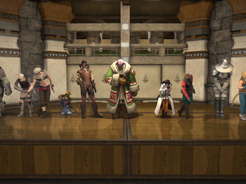 Final Fantasy XIV Players Create Their Own In-Game Theater