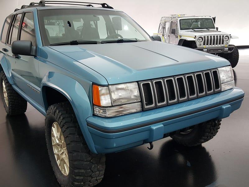 Jeep Resto-modded A '90s Grand Cherokee fuera de Craigslist y no ...