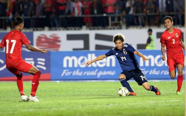 Świetna robota, Japonia… FIFA… MKOl… naprawdę po prostu przyswoiliście wszystkim nastroje