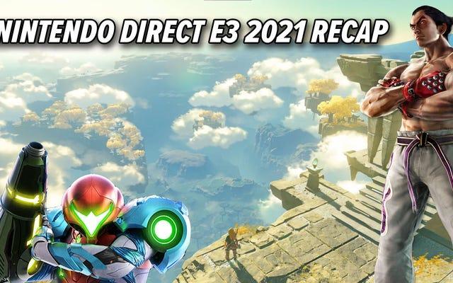 Nintendo à l'E3 2021 : les plus grosses annonces, en moins de 5 minutes