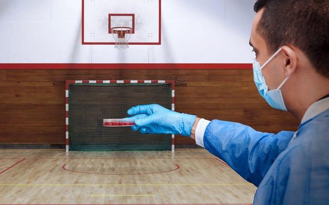 I centri per il controllo delle malattie lasciano uscire i virus del vaiolo e della peste bovina per l'ora quotidiana di esercizio