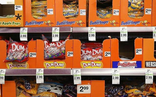 Saluti dolcetto o scherzetto con... un sorso di caramelle salutari?