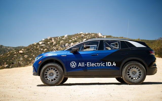 La Volkswagen ID.4 survit à la course tout-terrain des 1000 mexicains sans problèmes mécaniques