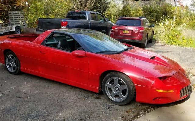 Может ли этот нестандартный Chevy Camaro 1997 года поднять вам настроение за 5500 долларов?