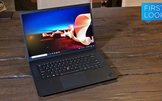 La ThinkPad X1 Extreme renovada de Lenovo es ahora más delgada y mucho más potente