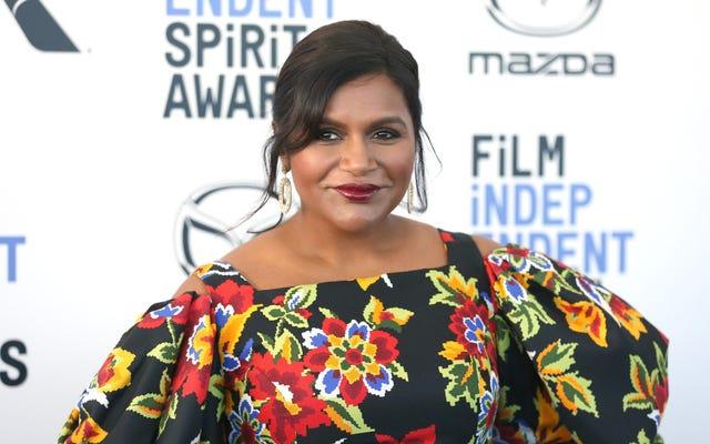 Mindy Kaling dice che uno dei suoi co-protagonisti dell'ufficio ha suggerito al suo personaggio di perdere un po' di peso