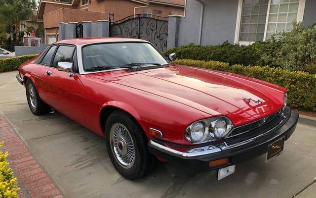 À 9 995 $, cette Jaguar XJ-S V12 de 1990 est-elle le miaou du chat?