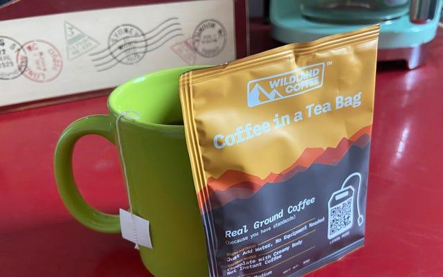क्या आप वाकई टी बैग में अच्छी कॉफी बना सकते हैं?