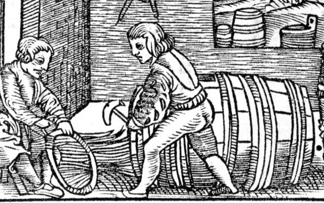 Le gars qui a travaillé dans la fabrication de barils dans les années 1400 ne voulait pas que cela devienne l'identité de la famille pour les 25 prochaines générations