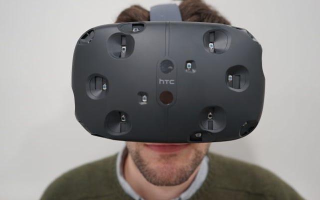 HTC Vive: La réalité virtuelle est tellement réelle que je ne peux même pas la gérer