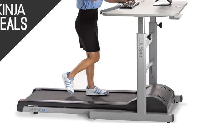 Sitzen bringt dich um, also schnapp dir diesen Laufband-Schreibtisch für 300 US-Dollar Rabatt heute
