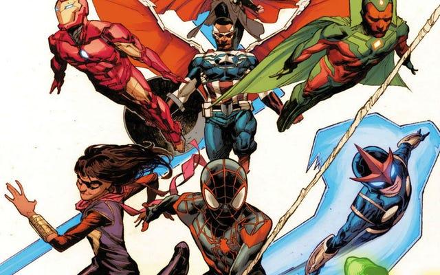 Miles Morales se une a los Vengadores en los cómics posteriores a Secret Wars de Marvel