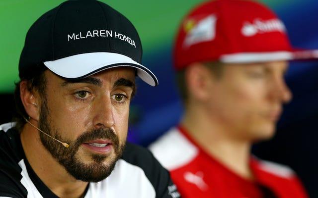 Алонсо: рулевое управление McLaren заблокировано, а история ветра - дерьмо